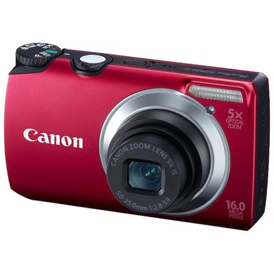 Canon PowerShot A3300 IS Red
