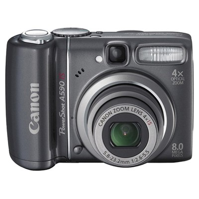 Canon PowerShot A590 IS Grey