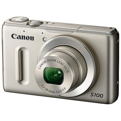 Canon PowerShot S100 Silver