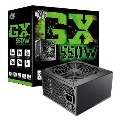 Cooler Master Power Supply GX 550W RS550-ACAAE3-EU