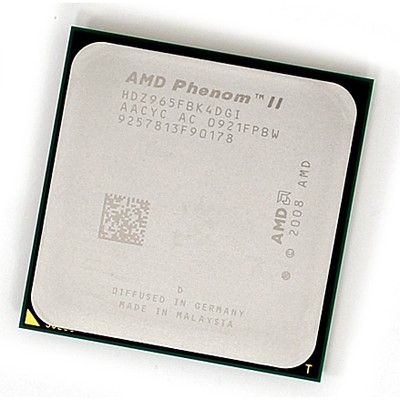 CPU Socket AM3 AMD Phenom II X4 965 OEM