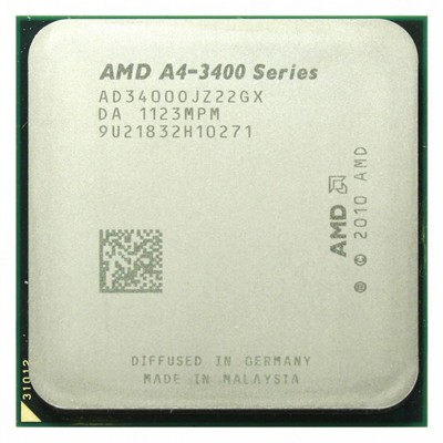 CPU Socket FM-1 AMD A4 X2 3400 OEM