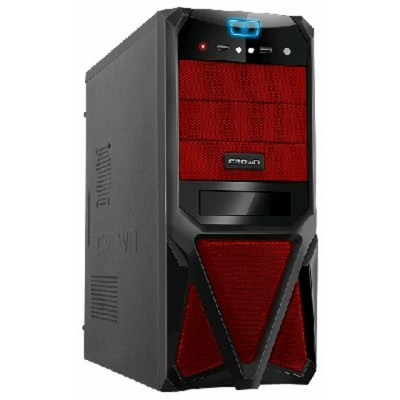 Crown CMC-SM161 black/red 500W
