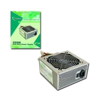 Gembird 350W PSU10-12 CE 12sm. fan