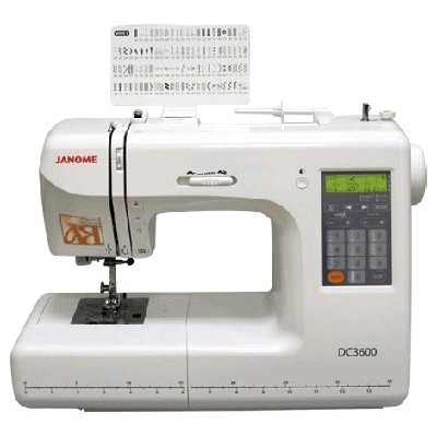 Janome DC 3600