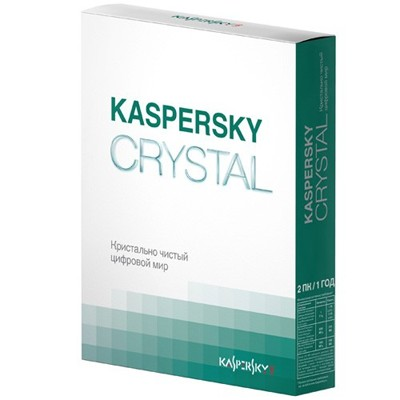Kaspersky Crystal Russian Edition KL1901RBBFS-F