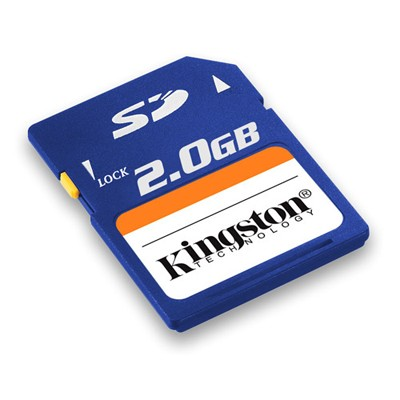 Kingston 2GB SecureDigital Card