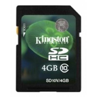 Kingston 4GB class10 SDHC SD10V-4GBCP