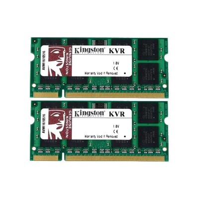 Kingston KVR800D2S6K2/2G