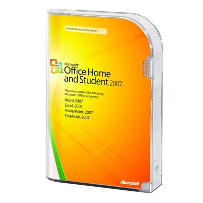 Microsoft Office Home and Student 2007 79G-01418