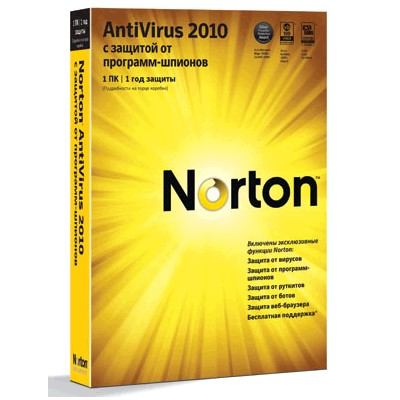 Norton AntiVirus 2010 Russian 20103070