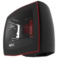 NZXT Manta Matte Black Red CA-MANTW-M2