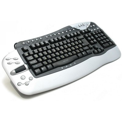 Oklick 780L PS/2+USB Black-Silver