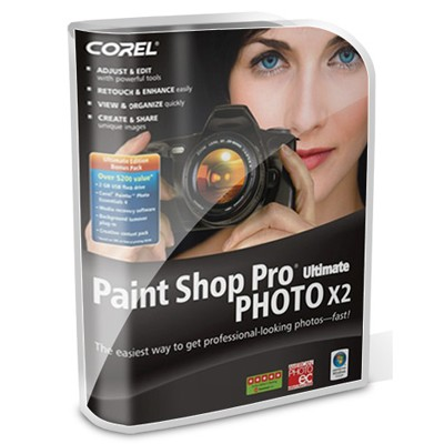 Paint Shop Pro Photo X2+Norton Internet Security 2009 PSPX2RUNIS