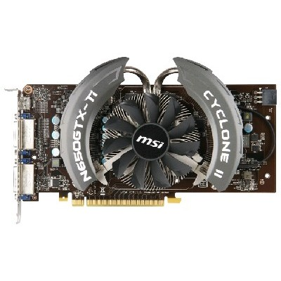PCI-Ex 1024Mb MSI N650TI PE 1GD5/OC