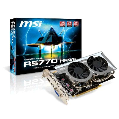 PCI-Ex 1024Mb MSI R5770-HAWK