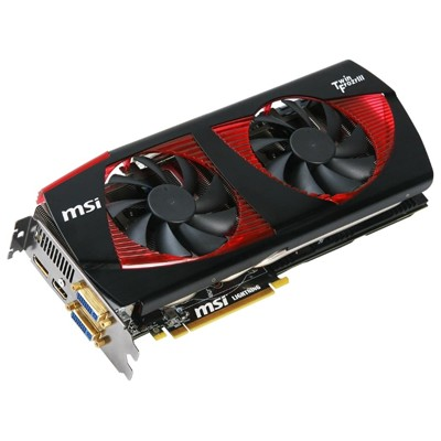 PCI-Ex 1536Mb MSI N480GTX Lightning
