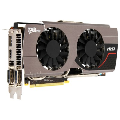 PCI-Ex 2048Mb MSI N680GTX TWIN FROZR 2GD5/OC