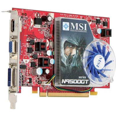 PCI-Ex 512Mb MSI N9500GT-MD512