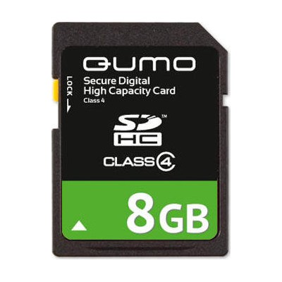 Qumo 8GB Secure Digital High Capacity SDHC class 4
