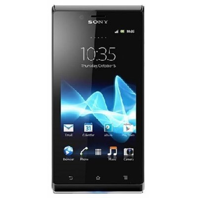 Sony Xperia J Black/Gold