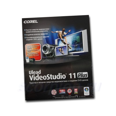 VideoStudio 11 Plus RUS VS11PLRUSPC