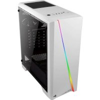 AeroCool Cylon Mini Tempered Glass White