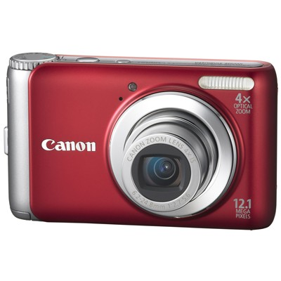 Canon PowerShot A3100 IS Red