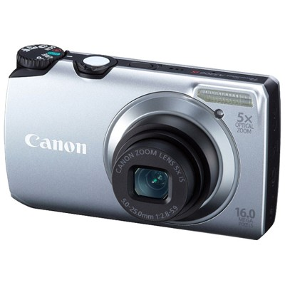 Canon PowerShot A3300 IS Silver