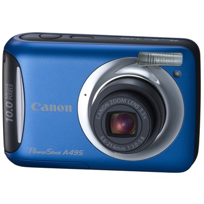 Canon PowerShot A495 IS Blue