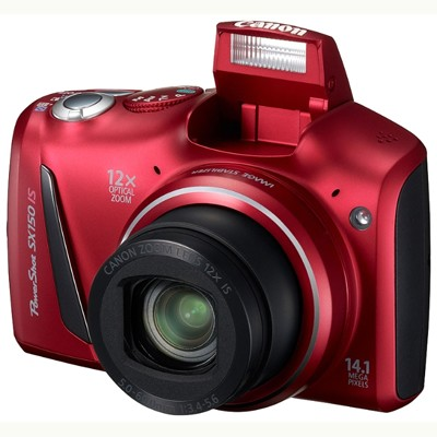 Canon PowerShot SX150 IS Red