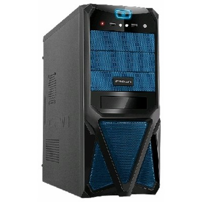 Crown CMC-SM161 black/blue 450W