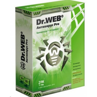 Dr. Web Pro для Windows BHW-A-12M-2-A3 W