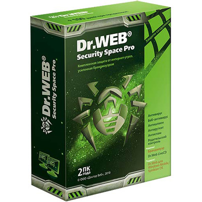 Dr. Web Security Space BSW-W12-0002-6