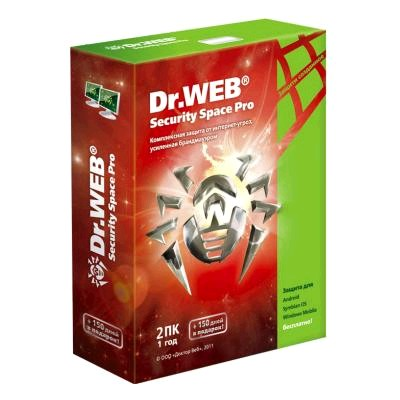 Dr. Web Security Space Pro BHW-B-12M-2A3