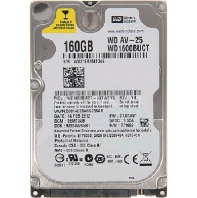WD WD1600BUCT