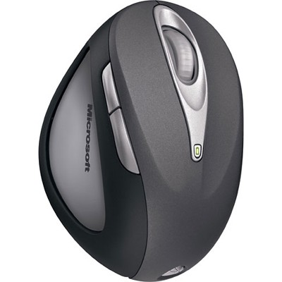 Microsoft Natural Wireless Laser Mouse 6000 Black