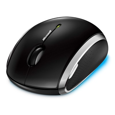 Microsoft Wireless Mobile Mouse 6000 Black