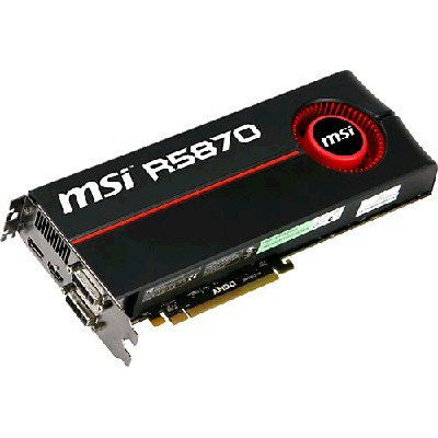 PCI-Ex 1024Mb MSI R5870-PM2D1G