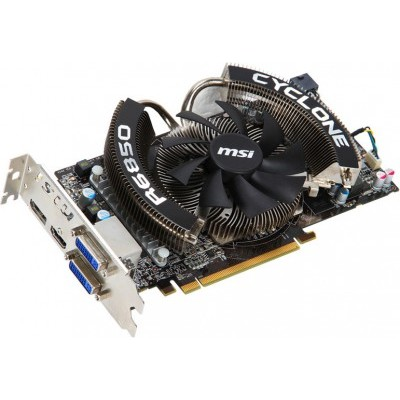 PCI-Ex 1024Mb MSI R6850-CYCLONE 1G/D5