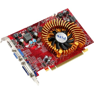 PCI-Ex 512Mb MSI R4650-MD512