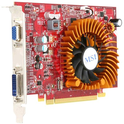 PCI-Ex 512Mb MSI R4650-MD512D2