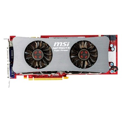 PCI-Ex 896Mb MSI N275GTX-896M Twin Frozr