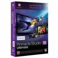 Pinnacle Studio 18 Ultimate PNST18ULMLEU