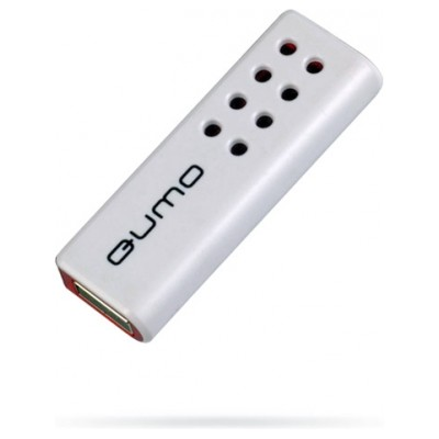 Qumo 32GB USB 2.0 Domino-red