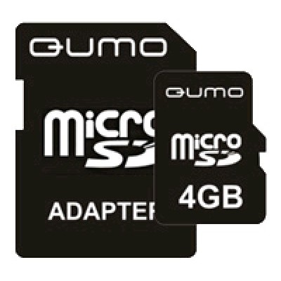 Qumo 4GB Secure Digital Micro High-Capacity Class 6