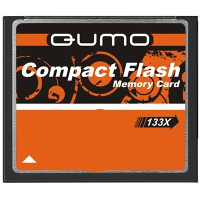 Qumo 4GB Compact Flash 133X