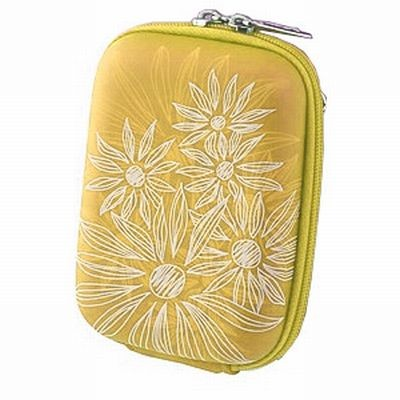 Riva 7023 PU Yellow flowers