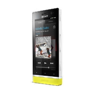 Sony Xperia U White/Yellow