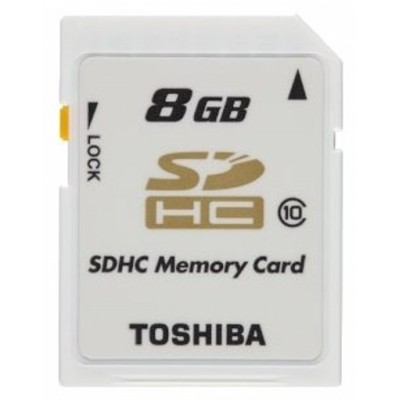 Toshiba 8GB SD-K08CL10 BL5